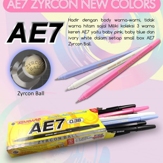 AE7 NEW COLOR